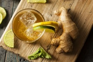 Relieve neck pain using ginger