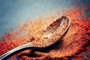 Use cayenne pepper and turn into a paste to relieve knee pain